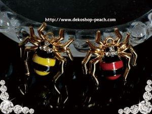 画像1: 【単品】蜘蛛のチャーム/2色有り★スパイダー