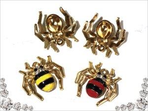 画像3: 【単品】蜘蛛のチャーム/2色有り★スパイダー