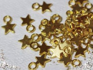 画像1: No.770/星/チャーム/ゴールド/20個 セット