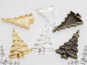 画像2: 【単品】ツリー/チャーム 3色有 1個入/snow