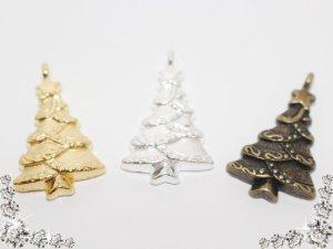 画像1: 【単品】ツリー/チャーム 3色有 1個入/snow