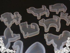 画像2: 【単品】シリコンモールド/生き物タイプ/1個入り/10種類有り
