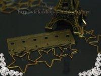 【10個入り】フレームパーツ【星型】/ゴールド/3サイズ有