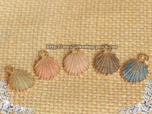 画像2: 【単品】カラフル/シェルチャーム/貝殻/5色有り