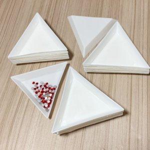 画像3: 【10枚入り】三角トレイ 三角ラインストーントレイ ビーズトレイ