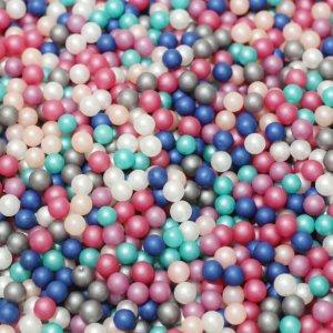 画像2: 【封入用約200粒】新色/穴なしパール/ミックス/3mm/約200粒