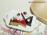 【単品】ショートケーキ/プラパーツ/5色有り